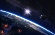 宽屏星空地球 3 20 宽屏星空地球 其他壁纸