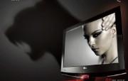 LG黑豹平板电视惊艳壁纸! 其他壁纸