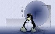Linux系统小企鹅壁纸 Linux系统小企鹅壁纸 其他壁纸