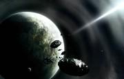 梦幻!超酷3D太空星球壁纸 其他壁纸