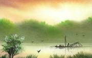 诗情画意湖畔人家 其他壁纸