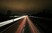 时与光!高速公路夜晚壁纸 其他壁纸