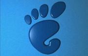 有趣的GNOME大脚丫设计壁纸 有趣的GNOME大脚丫设计壁纸 其他壁纸