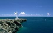 日本冲绳海岸旅游风光 二 日本冲绳海滩图片 Beach Vacation in Okinawa Japan 1920x1200 日本冲绳风光二 人文壁纸