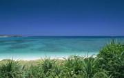 日本冲绳海岸旅游风光 二 日本冲绳风景图片 Beach Vacation in Okinawa Japan 1920x1200 日本冲绳风光二 人文壁纸