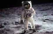 阿波罗11号登月40周年纪念壁纸 人文壁纸