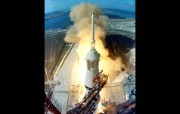 One Giant Leap for Mankind Apollo 11 Launch 阿波罗11号火箭发射 阿波罗11号登月40周年纪念壁纸 人文壁纸