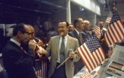 One Giant Leap for Mankind Apollo 11 Celebration at Mission Control 地面控制室里的庆祝 阿波罗11号登月40周年纪念壁纸 人文壁纸
