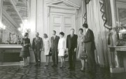 One Giant Leap for Mankind Apollo 11 Astronaust Welcomed to Royal Palace in Brussels Belgium 宇航员在布鲁塞尔皇宫受欢迎 阿波罗11号登月40周年纪念壁纸 人文壁纸