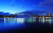 HDR 澳洲悉尼 黎明的悉尼大桥图片 澳洲悉尼风景摄影集 人文壁纸