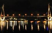 HDR 澳洲悉尼 Anzac Bridge 夜景壁纸 澳洲悉尼风景摄影集 人文壁纸