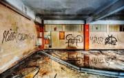 城市废墟影像 破旧颓废的废墟影像 城市废墟影像 人文壁纸