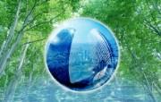 城市与绿化 环保主题设计壁纸 城市绿化 环保主题商业合成图片 城市绿化主题PS壁纸 人文壁纸