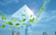 城市与绿化 环保主题设计壁纸 清新空气与蓝天 环保主题PS图片 城市绿化主题PS壁纸 人文壁纸