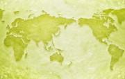 城市与绿化 环保主题设计壁纸 世界地图 环保主题合成图片 城市绿化主题PS壁纸 人文壁纸