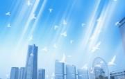 城市与环境 环保主题设计壁纸 城市天空 城市环境主题PS设计壁纸 城市与环保主题设计壁纸 人文壁纸
