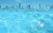 城市与环境 环保主题设计壁纸 城市水资源合成图片 环保主题设计壁纸 城市与环保主题设计壁纸 人文壁纸