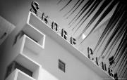 纯粹的光影美学 人文建筑黑白摄影壁纸 Shore Club Miami 迈阿密海岸俱乐部桌面壁纸 纯粹的光影美学人文建筑黑白摄影壁纸 人文壁纸