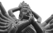 纯粹的光影美学 人文建筑黑白摄影壁纸 Buddhist Prayer China 中国千手观音桌面壁纸 纯粹的光影美学人文建筑黑白摄影壁纸 人文壁纸