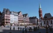 德国旅游风光图片壁纸 法兰克福罗马广场Germany Vacation Germany Travel Spot 德国旅游风景 人文壁纸