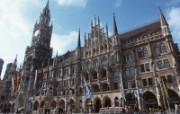 德国旅游风光图片壁纸 德国玛丽恩广场图片Germany Vacation Germany Travel Spot 德国旅游风景 人文壁纸