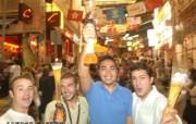 东西文化交融的动感都市 香港特色旅游壁纸 在兰桂坊 每晚都是派对天 桌面壁纸 东西文化交融的动感都市香港特色旅游壁纸 人文壁纸