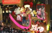 东西文化交融的动感都市 香港特色旅游壁纸 新春国际汇演之夜 的花车巡游美不胜收 桌面壁纸 东西文化交融的动感都市香港特色旅游壁纸 人文壁纸