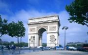 法国风情画 50张 法国凯旋门图片France Travel Arch of Triumph France 法国风情画 人文壁纸