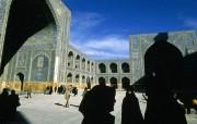 透过镜头 Iranian Mosque 伊朗清真寺桌面壁纸 国家地理杂志2008年度最佳图片 人文壁纸