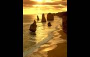 透过镜头 Victoria Coast Sunset Victoria Australia 维多利亚海岸日落桌面壁纸 国家地理杂志2008年度最佳图片 人文壁纸