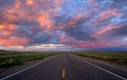 透过镜头 Western Road 西部公路桌面壁纸 国家地理杂志2008年度最佳图片 人文壁纸