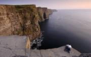 游历大千世界 国家地理杂志每日一图2010五六月摄影壁纸 爱尔兰的莫赫悬崖图片壁纸 国家地理杂志 2010 56月壁纸 人文壁纸