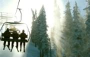 游历大千世界 国家地理杂志每日一图2010五六月摄影壁纸 新墨西哥滑雪缆车图片壁纸 国家地理杂志 2010 56月壁纸 人文壁纸
