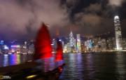 游历大千世界 国家地理杂志每日一图2010五六月摄影壁纸 香港夜景图片壁纸 国家地理杂志 2010 56月壁纸 人文壁纸