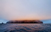 游历大千世界 boreray island fog 苏格兰 博雷岛图片壁纸 国家地理杂志每日一图2010三月摄影壁纸 人文壁纸
