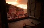 游历大千世界 monastery window 希腊 修道院的窗户图片壁纸 国家地理杂志每日一图2010三月摄影壁纸 人文壁纸