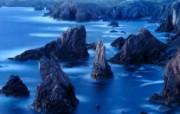 游历大千世界 sea stacks hebrides 外赫布里底群岛 海栈图片壁纸 国家地理杂志每日一图2010三月摄影壁纸 人文壁纸