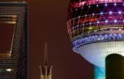 游历大千世界 shanghai skyline 上海天际线图片壁纸 国家地理杂志每日一图2010三月摄影壁纸 人文壁纸