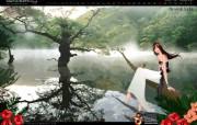 韩国旅游局官方旅游景点壁纸 韩国旅游圣地 注山池 Korea Travel Jusanji Lake 韩国官方旅游景点壁纸 人文壁纸