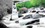 韩国旅游局官方旅游景点壁纸 韩国旅游景点 九千洞溪谷 Korea Travel Muju Gucheondong Valley 韩国官方旅游景点壁纸 人文壁纸