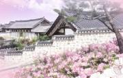 韩国风光 南山谷韩屋村 韩国映像馆韩国旅游宣传壁纸 人文壁纸