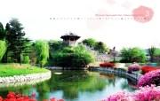 韩国风光 水原华城 韩国映像馆韩国旅游宣传壁纸 人文壁纸