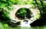 韩国风景 全南仙岩寺溪谷 韩国映像馆韩国旅游宣传壁纸 人文壁纸