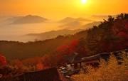 韩国风光 忠北沃川龙岩寺 韩国映像馆韩国旅游宣传壁纸 人文壁纸