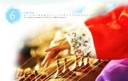 韩国民俗文化 伽��琴 韩国映像馆韩国旅游宣传壁纸 人文壁纸