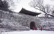 韩国冬景 京畿道光州南汉山城 br 韩国映像馆韩国旅游宣传壁纸 人文壁纸