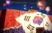 韩国民俗文化 太极旗 韩国映像馆韩国旅游宣传壁纸 人文壁纸