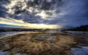 安静的间歇泉 Iceland 冰岛间歇泉壁纸 HDR 冰岛风光宽屏壁纸 人文壁纸