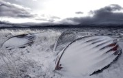 冰岛冬天的船坞 Iceland 冰岛风光壁纸 HDR 冰岛风光宽屏壁纸 人文壁纸