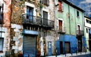 HDR 西班牙城市映像 西班牙 Girona HDR 西班牙城市风景 HDR 西班牙城市映像 人文壁纸